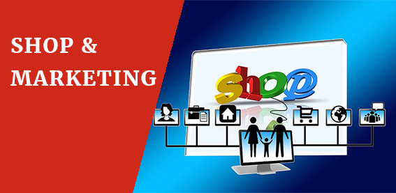 webseite shop marketing